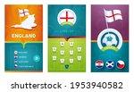 england european 2020 football...   Shutterstock .eps vector #1953940582