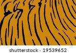 tiger print | Shutterstock .eps vector #19539652