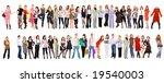2 crowds | Shutterstock . vector #19540003