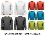 colorful male long sleeved...