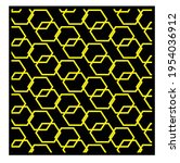 yellow geometric patterns....   Shutterstock .eps vector #1954036912