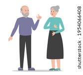 deaf people talking using sign... | Shutterstock .eps vector #1954066408