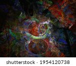 Abstract Fractal Image....