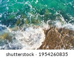Azure Water In Motion With...