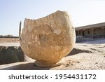 Broken Ancient Earthenware Jug. ...