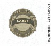 vintage style label... | Shutterstock .eps vector #1954439005