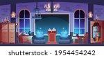 magic school. magician... | Shutterstock .eps vector #1954454242