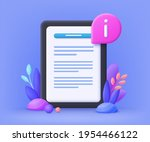 user guide manual concept for... | Shutterstock .eps vector #1954466122