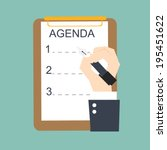 Large Teen Art Board Agenda 30