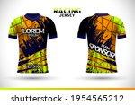 sports racing jersey design....   Shutterstock .eps vector #1954565212