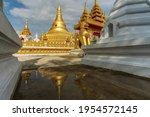 Model Of Shwedagon Pagoda ...