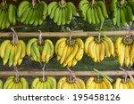 Banana Bunch On The Market