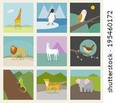 animal | Shutterstock .eps vector #195460172
