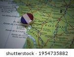 La Rochelle Pinned On A Map...