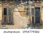 Facade Of An Abandoned House In ...