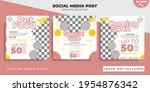 pet accessories banner for... | Shutterstock .eps vector #1954876342
