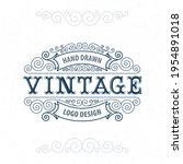 vintage style label... | Shutterstock .eps vector #1954891018