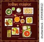indian cuisine restaurant meals ... | Shutterstock .eps vector #1954938412