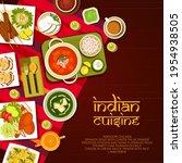 indian restaurant food menu... | Shutterstock .eps vector #1954938505