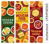 mexican cuisine vector beef... | Shutterstock .eps vector #1954938565