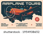 airplane tours service  air... | Shutterstock .eps vector #1954938652