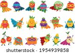 funny fruits and vegetables... | Shutterstock .eps vector #1954939858
