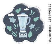 cartoon vector illustration of... | Shutterstock .eps vector #1954995832