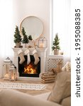 Fireplace In Room With...