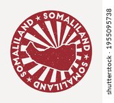 somaliland stamp. travel red... | Shutterstock .eps vector #1955095738