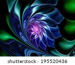 Colorful Fractal Flower ...