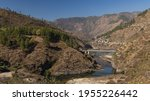 A Panoramic View Of A River...
