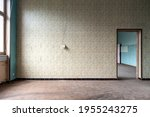 Abandoned Empty Room With...