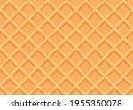 seamless waffle texture or... | Shutterstock .eps vector #1955350078