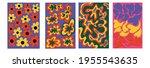 vintage vector interior posters ... | Shutterstock .eps vector #1955543635