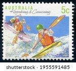 Australia   Circa 1990  Stamp...