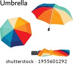 Umbrella  Colorful  Rainy ...