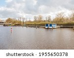 Houseboat In A Small Port....