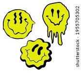 urban neon graffiti slogan... | Shutterstock .eps vector #1955705302