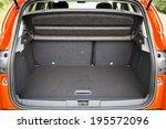 small size suv car trunk | Shutterstock . vector #195572096
