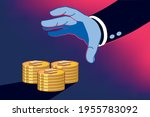 business man profiting through...   Shutterstock .eps vector #1955783092