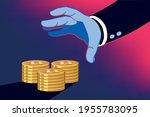 business man profiting through...   Shutterstock .eps vector #1955783095