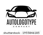 auto car logo design front... | Shutterstock .eps vector #1955846185