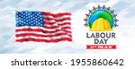 united states of america on... | Shutterstock .eps vector #1955860642