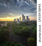 beautiful city view in the... | Shutterstock . vector #1955978995