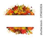 happy thanksgiving day...   Shutterstock .eps vector #195601826