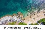 Small photo of Aerial view over Ao Sane beach on Phuket island, Thailand
