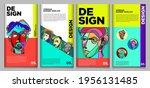 vector webinar banner template... | Shutterstock .eps vector #1956131485