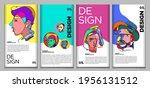 vector webinar banner template... | Shutterstock .eps vector #1956131512