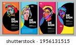 vector webinar banner template... | Shutterstock .eps vector #1956131515