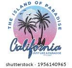 california paradise gradient...   Shutterstock .eps vector #1956140965